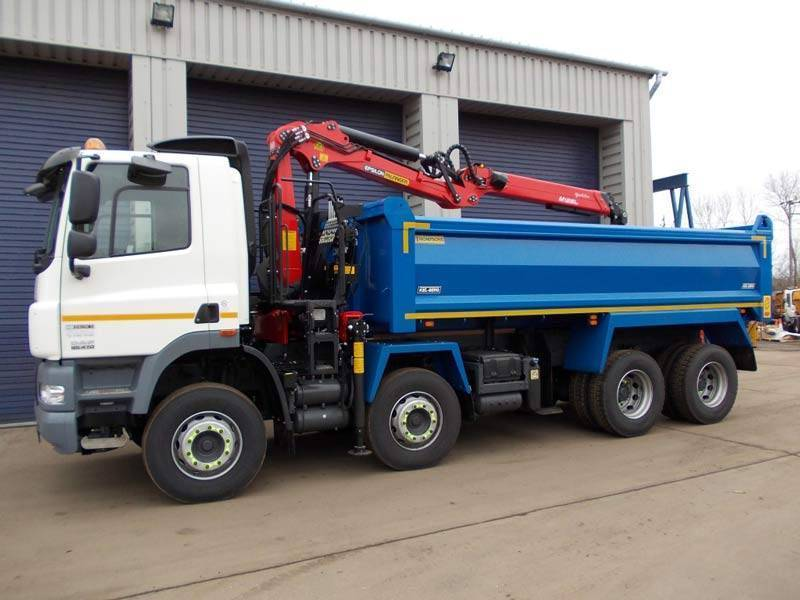 Tipper Grab Hire