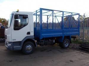 Cage Tippers For Hire Across Great Britain And Northern
