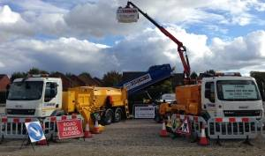 hgv hire at Plantworx