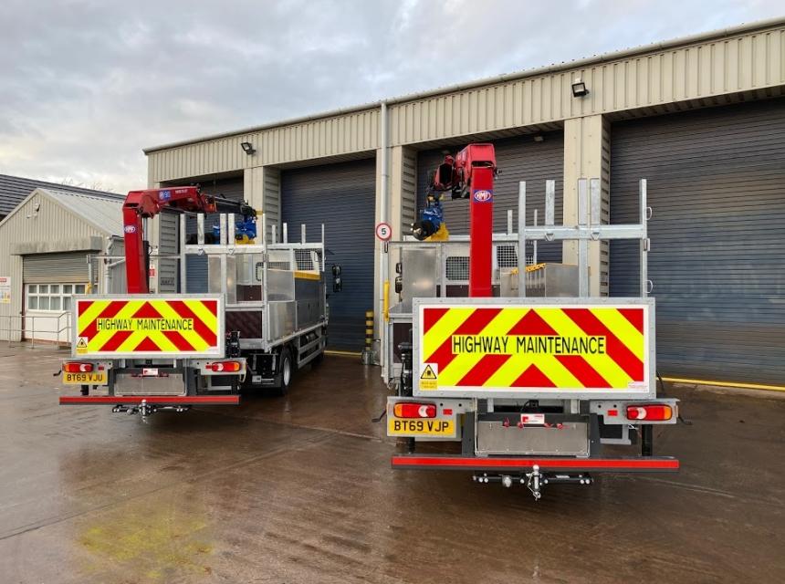 12 Tonne Pole Erection Unit Hire