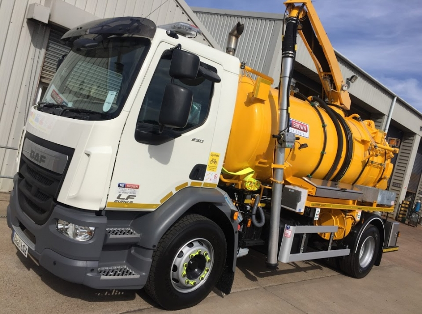 18 Tonne Gully Emptier Hire Vehicle