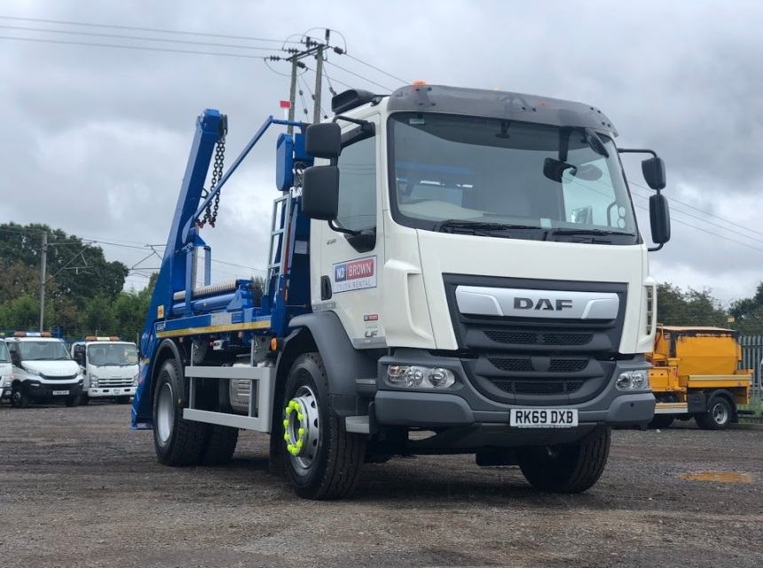 18 Tonne Skip Loader Hire