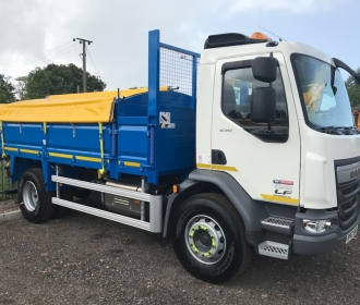 18 Tonne Tipper Hire with Cover thumbnail