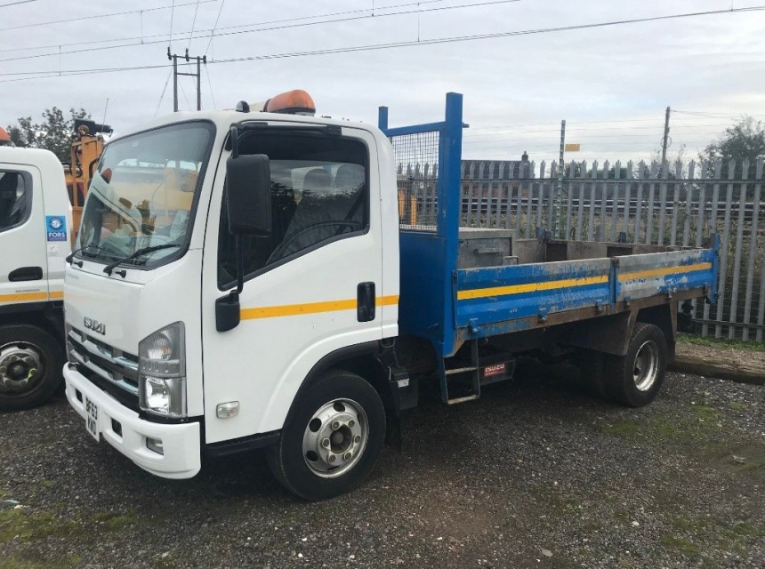 7.5 Tonne Tipper (Hire)