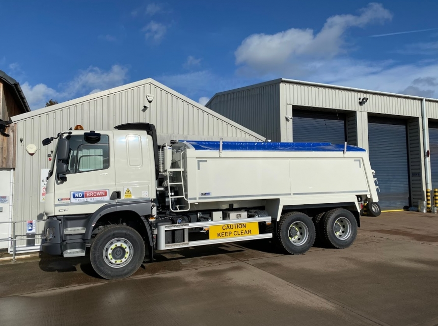 26 Tonne Insulated Tipper