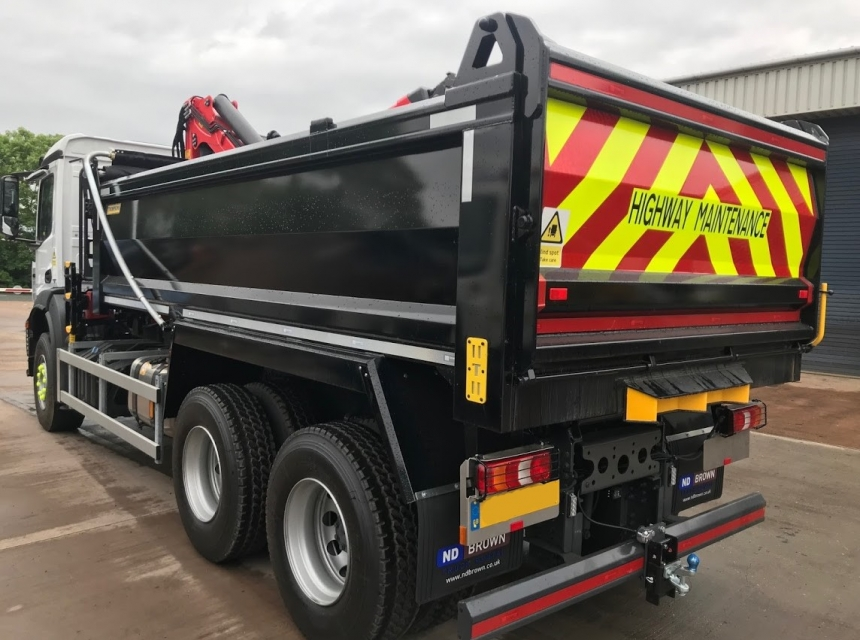 26 Tonne Tipper Grab Back