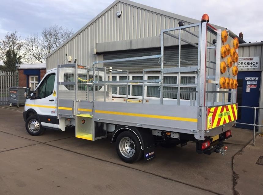 3.5 Tonne GVW Traffic Management Vehicle Hire