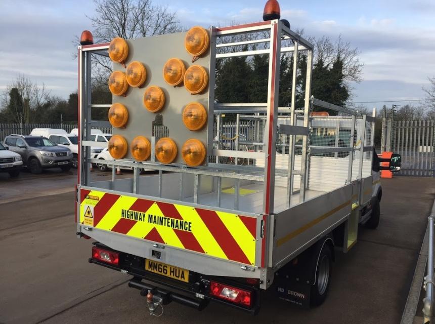 3.5 Tonne Traffic Management Vehicle Hire