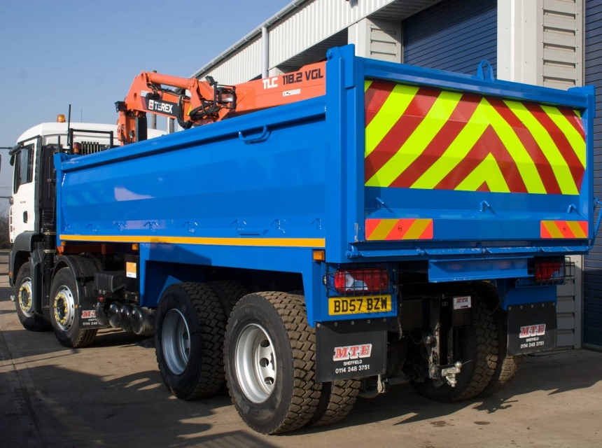32 Tonne Tipper Hire