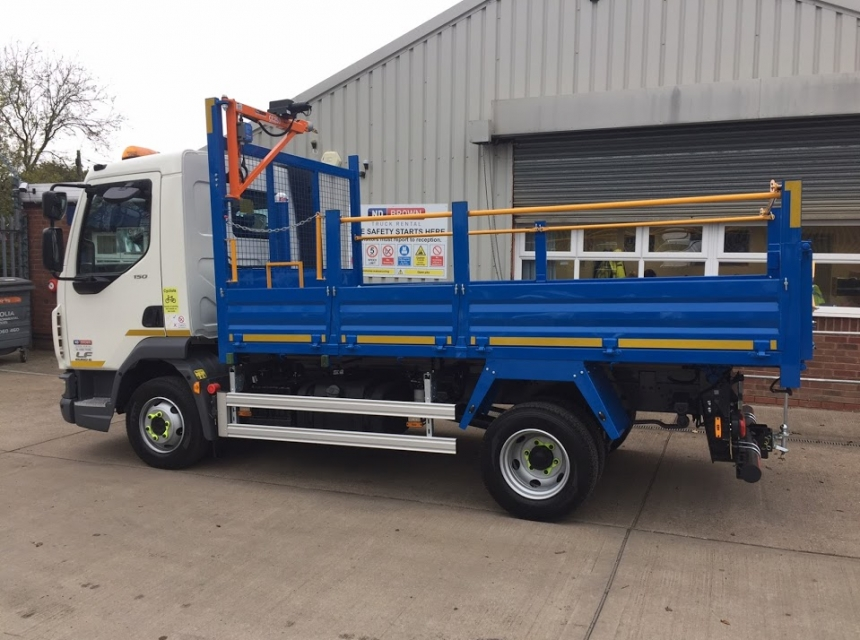 7.2/7.5 Tonne GVW Tipper Hire