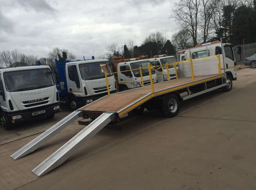 7.5 Tonne Beavertail Hire