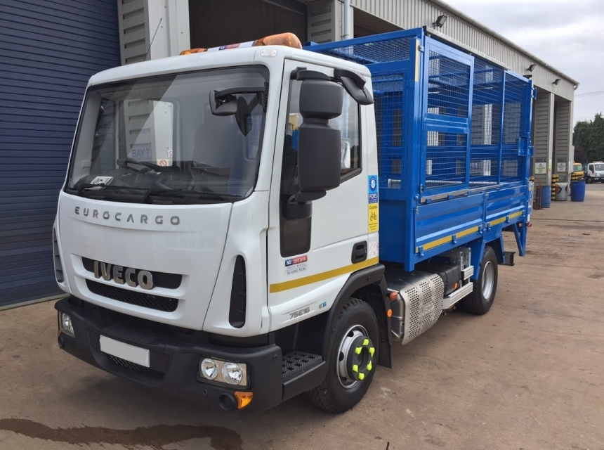7.5 Tonne GVW Caged Tipper