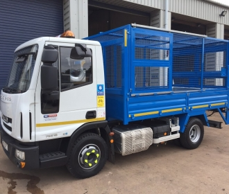 Cage Tipper Hire for Construction Projects thumbnail