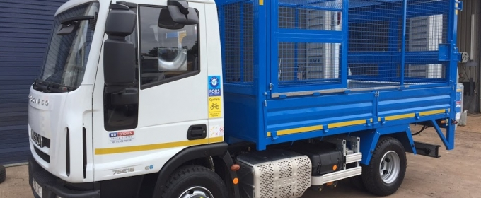 ND Brown can supply cage tippers direct to you! thumbnail