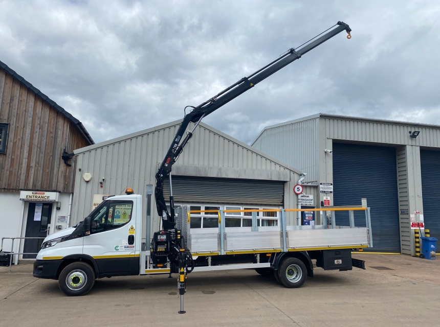 7.5 Tonne Street Lighting Vehicle