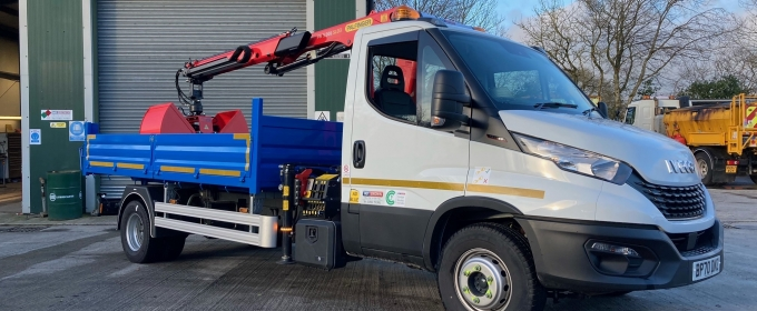 ND Brown Adds 7.2 Tonne Tipper Grab to HGV Hire Fleet thumbnail