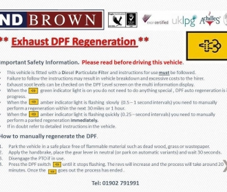 DPF Regeneration – exhausts on Mitsubishi and Isuzu. thumbnail