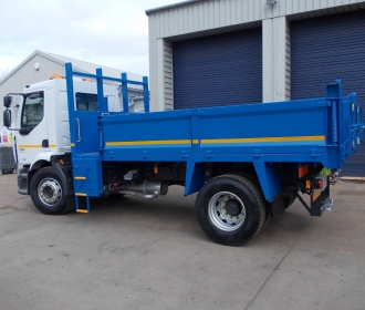New Renault 18 Tonne Insulated Tippers thumbnail