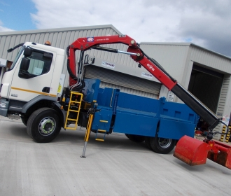 18 Tonne Insulated Tipper Grab thumbnail