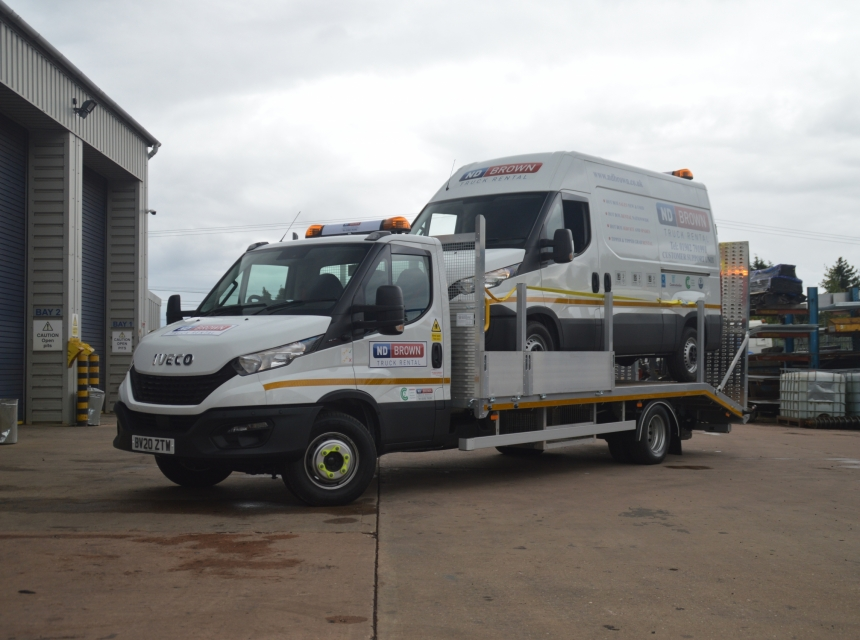 7.2/7.5 Tonne GVW Beavertail  image 25