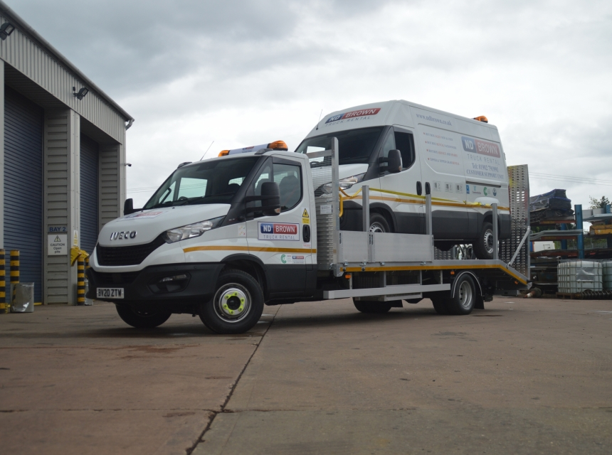 7.2/7.5 Tonne GVW Beavertail