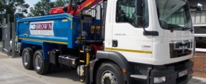 Truck and HGV Rental in London thumbnail