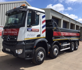 4 Reasons You Need a Tipper Hire Truck thumbnail