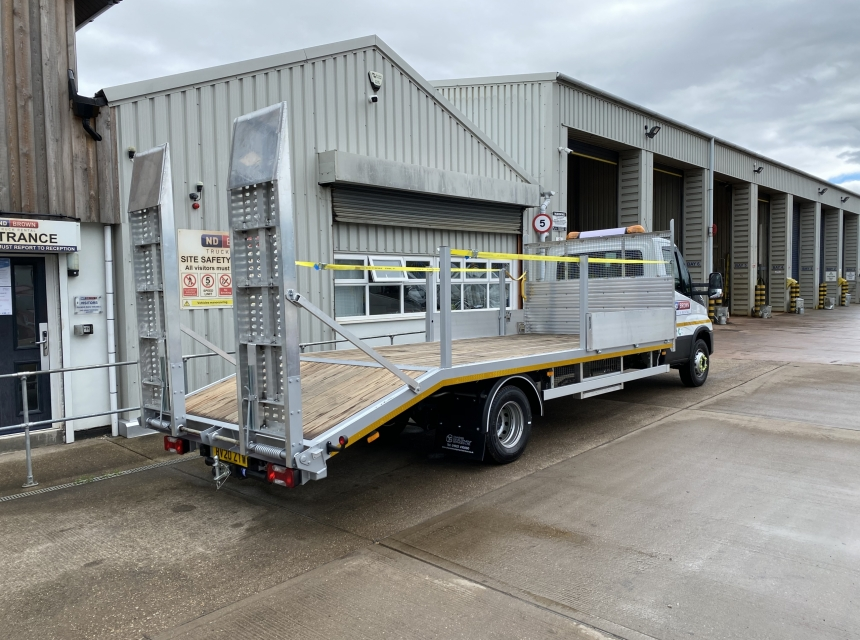 7.2/7.5 Tonne GVW Beavertail  image 0