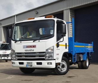 New Isuzu Tippers from Aquila Truck Centre thumbnail