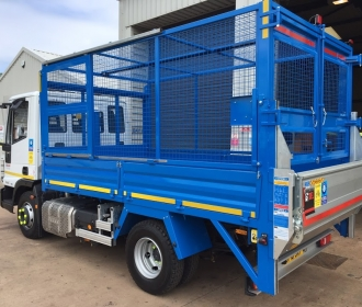 Cage Tippers for Hire Across Great Britain and Northern Ireland thumbnail