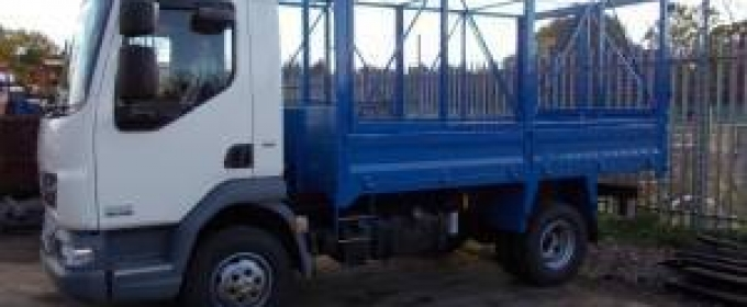 Cage tippers for office clearances thumbnail