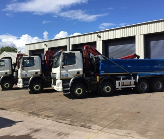 Truck Hire for Construction Projects in Manchester thumbnail