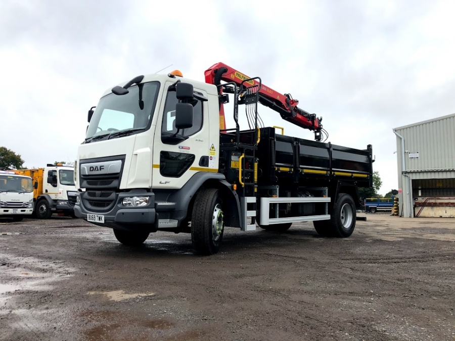 18 Tonne Tipper Grab