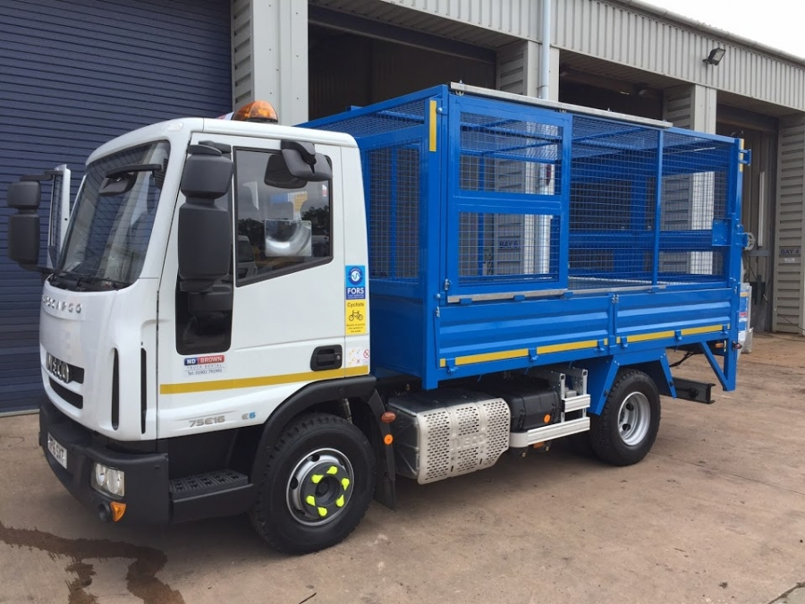 7.5 Tonne Caged Tipper