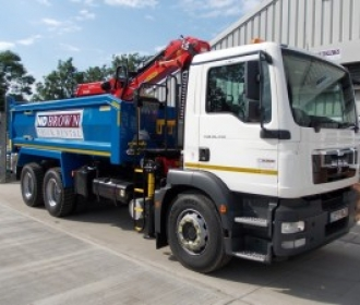 Grab Hire in London for Transporting Aggregates thumbnail