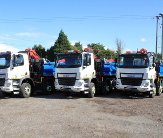 Grab Hire Vehicles Boost Road Maintenance in Leicestershire thumbnail