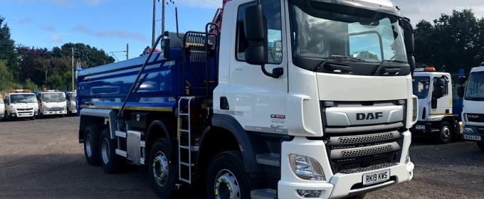 National HGV Hire from ND Brown thumbnail