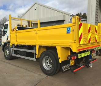 Tipper Hire for Flood Defences thumbnail