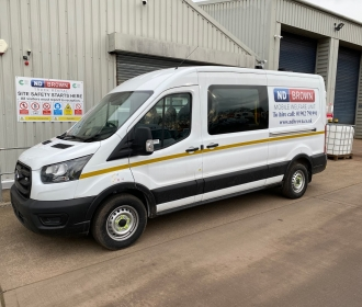 Welfare Vans Added to ND Brown's HGV Hire Fleet thumbnail