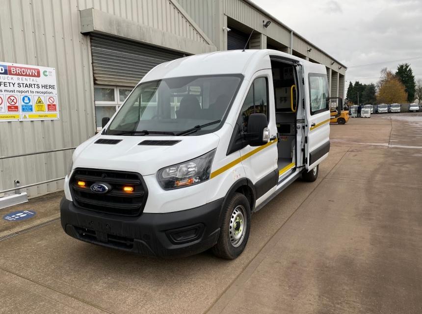 3.5 Tonne GVW Welfare Van