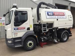15 tonne road sweeper