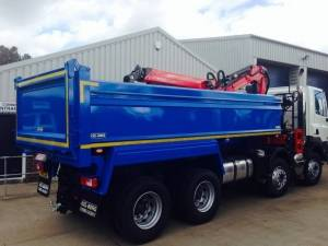 26 tonne tipper grab