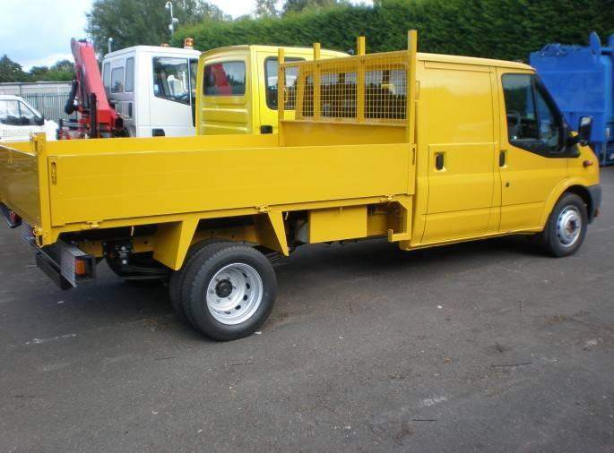3.5 tonne tipper hire