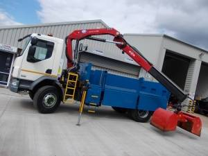 18 Tonne Insulated Tipper Grab