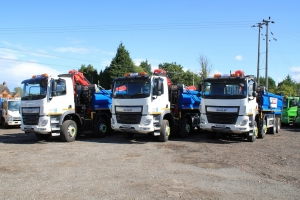 Grab Hire Vehicles Boost Road Maintenance in Leicestershire
