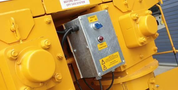 hot box controls