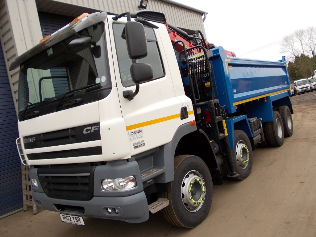 New 32 tonne tipper grab for hire