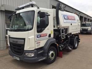 Road Sweeper 15 Tonne