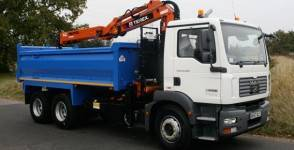 Tipper Grab Hire in the Midlands