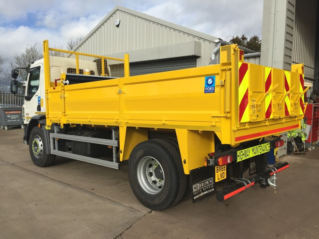 Tipper Hire for Flood Defences